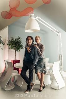Elena e Franz di Cioccio