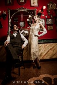 Models - Steve Forchetta and Miss Moon Amour Light Design Marco Busato