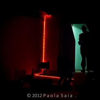 Voodoo deluxe - frame of backstage