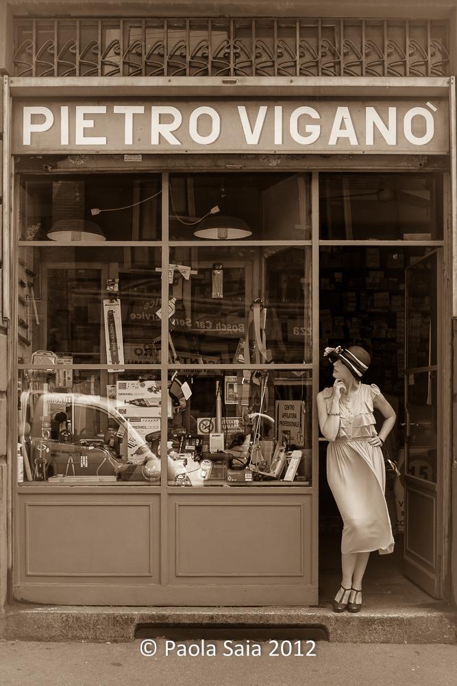 """""""Ferramenta Viganò"""" Milano, 1927 - Zona Tortona"""