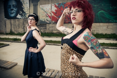Models Julia F. and Irene