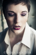 Model: Julia F. MUA: Paola Saia
