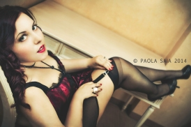 Model: Emanuela Post Prod and Light Design: Marco Busato Ph MUA: Paola Saia