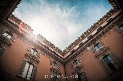 "Milan ""Cortili Aperti"" - discovering private courtyards in Brera, Milan, Orsini Palace"