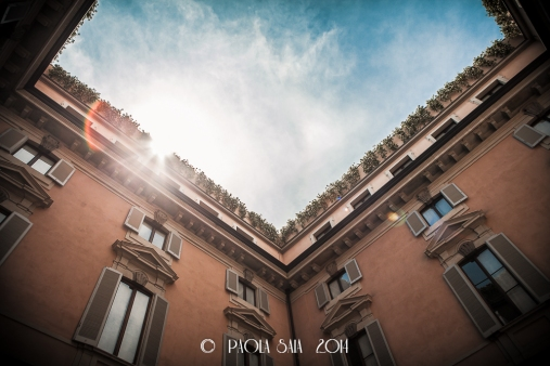 "Milan ""Cortili Aperti"" - discovering private courtyards in Brera, Milan, Orsini Palace"