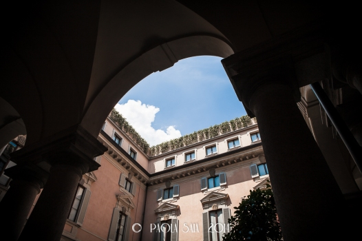 "Milan ""Cortili Aperti"" - discovering private courtyards in Brera, Milan. Orsini Palace, Borgonuovo street, 11"