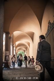 "Milan ""Cortili Aperti"" - discovering private courtyards in Brera, Milan, Casa Bigli Samoyloff Besozzi, Borgonuovo street 20"