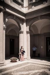 "Milan ""Cortili Aperti"" - discovering private courtyards in Brera, Milan, Moriggia palace, Borgonuovo street 23"