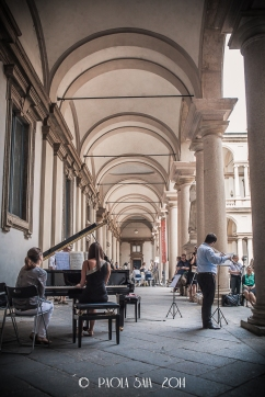 Pinacoteca di Brera - Discovering private courtyards in Brera, Milan